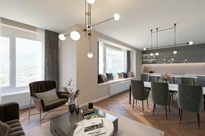 OPTIE l Op te frissen appartement met 2 terrassen & een prachtig uitzicht