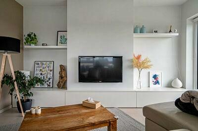 Prachtig gerenoveerd appartement op Linkeroever met zicht over Galgenweel